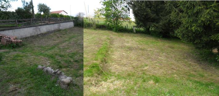 Terrassement mise a niveau jardin - Dalle piscine hors sol ...
