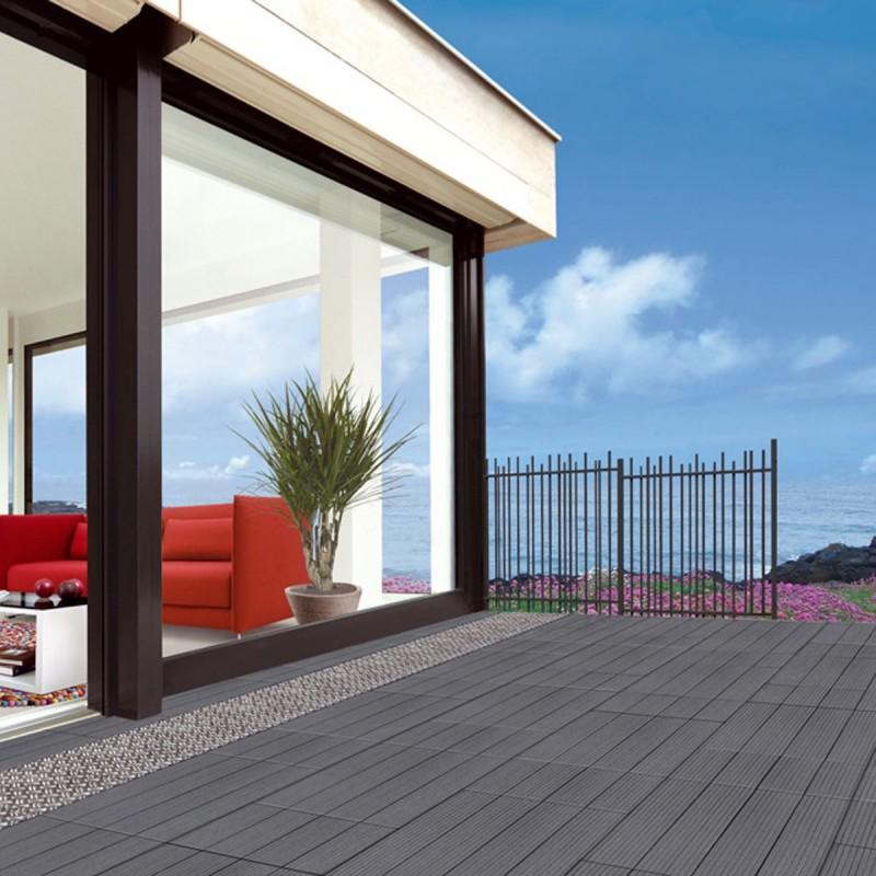 Pose terrasse composite balcon
