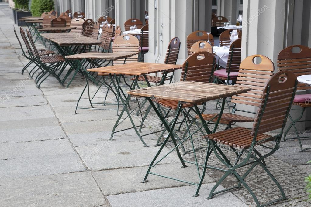 Table terrasse cafe