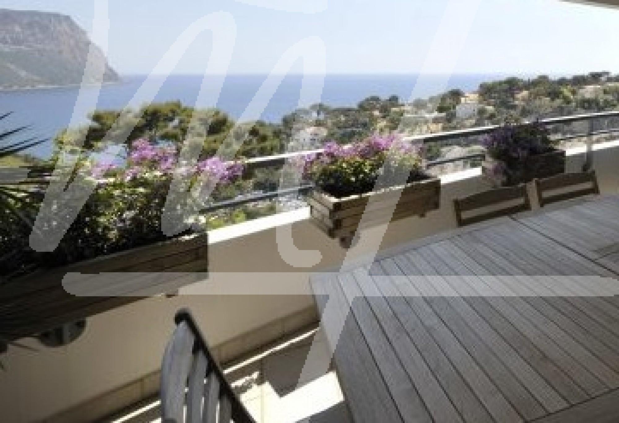 Terrasse appartement mer