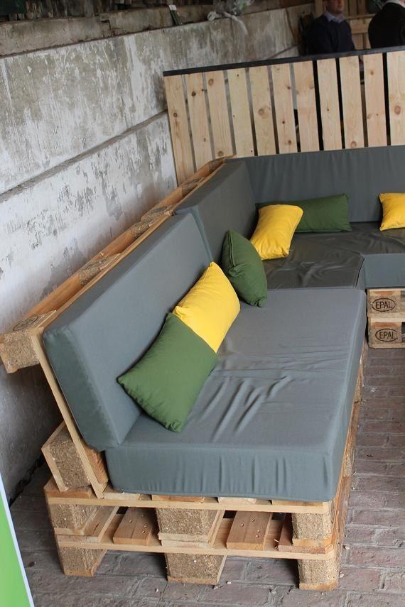 Modele de terrasse avec palette - Mailleraye.fr jardin