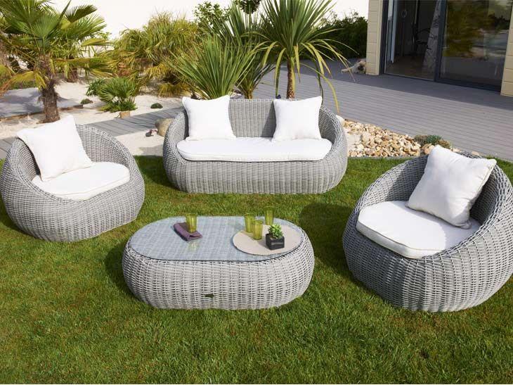 Salon de jardin lounge elegance