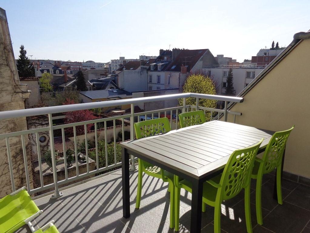 Appartement terrasse reims location