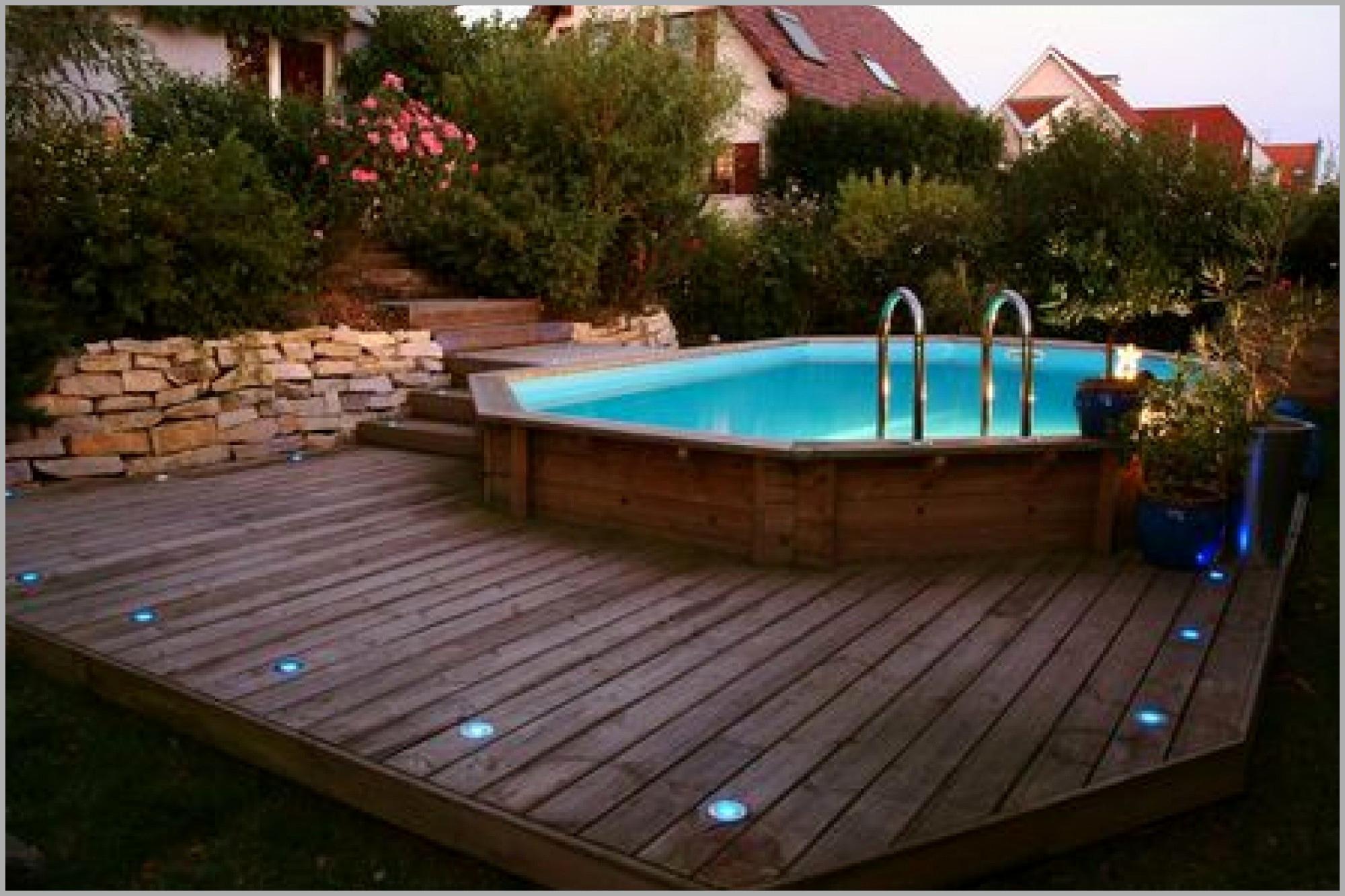 Prix terrasse bois piscine hors sol
