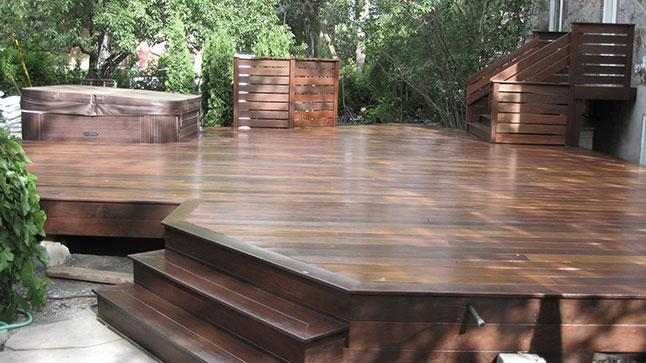 Terrasse bois traité entretien