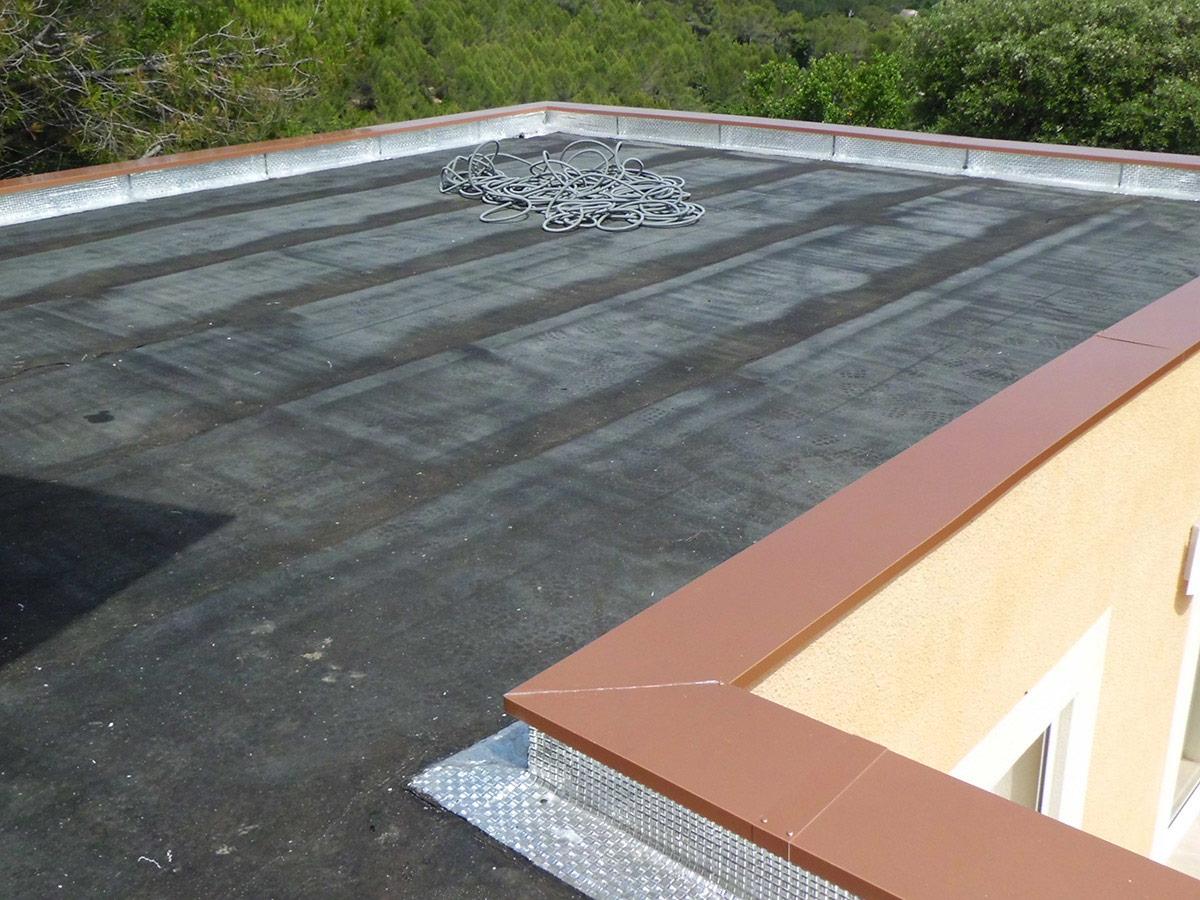 Terrasse carrelée étanchéité