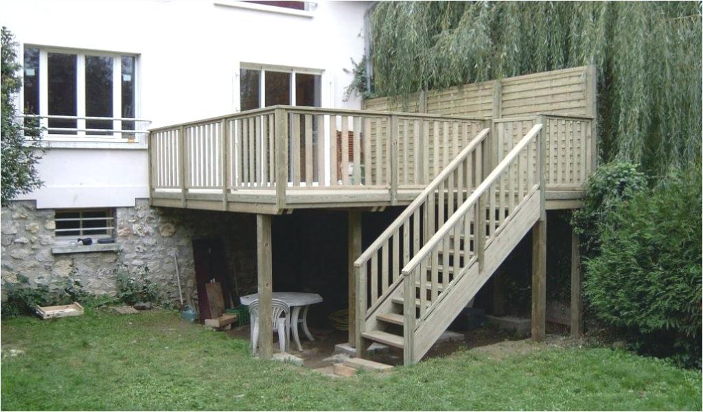 Terrasse bois suspendue prix m2