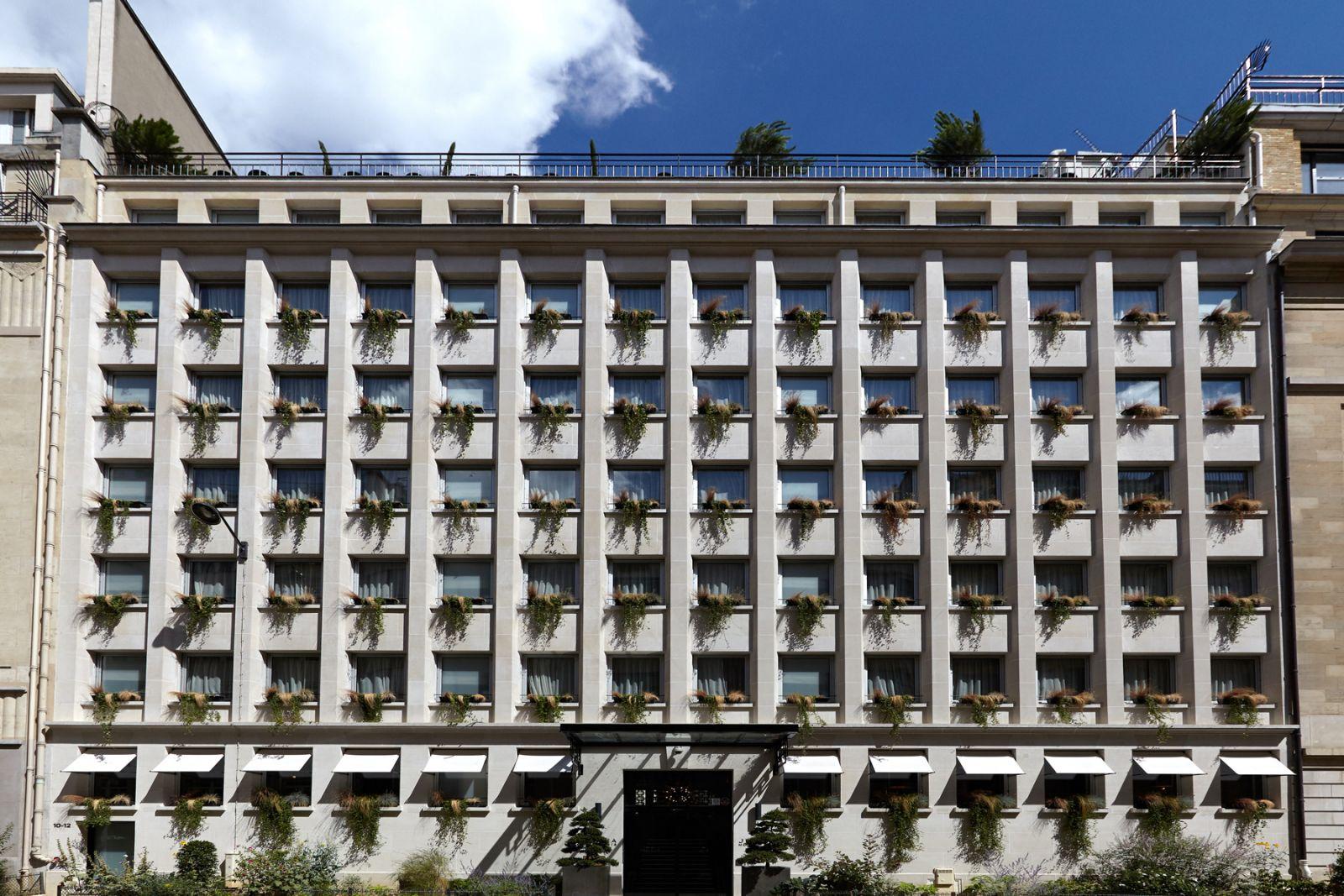 Terrasse hotel juliana