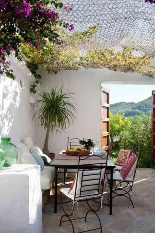 Terrasse couverte maroc