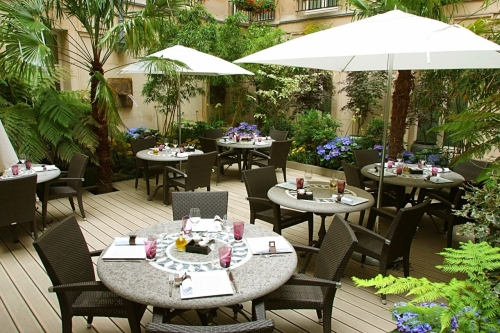 Restaurant terrasse paris anniversaire