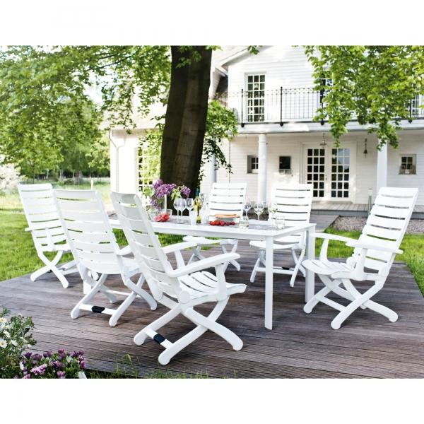 Salon de jardin kettler table - Mailleraye.fr jardin