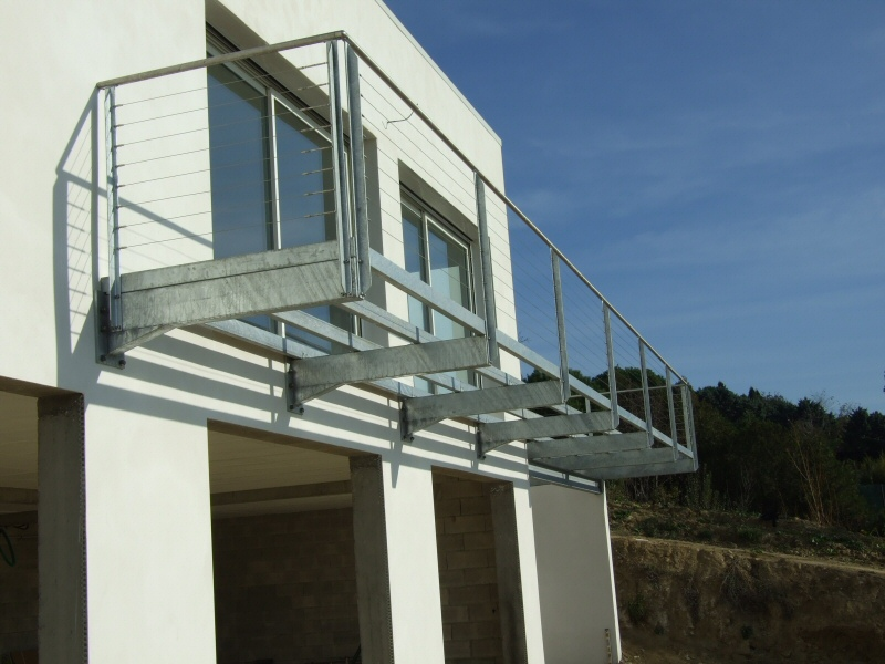 balcon terrasse m tallique jardin. Black Bedroom Furniture Sets. Home Design Ideas