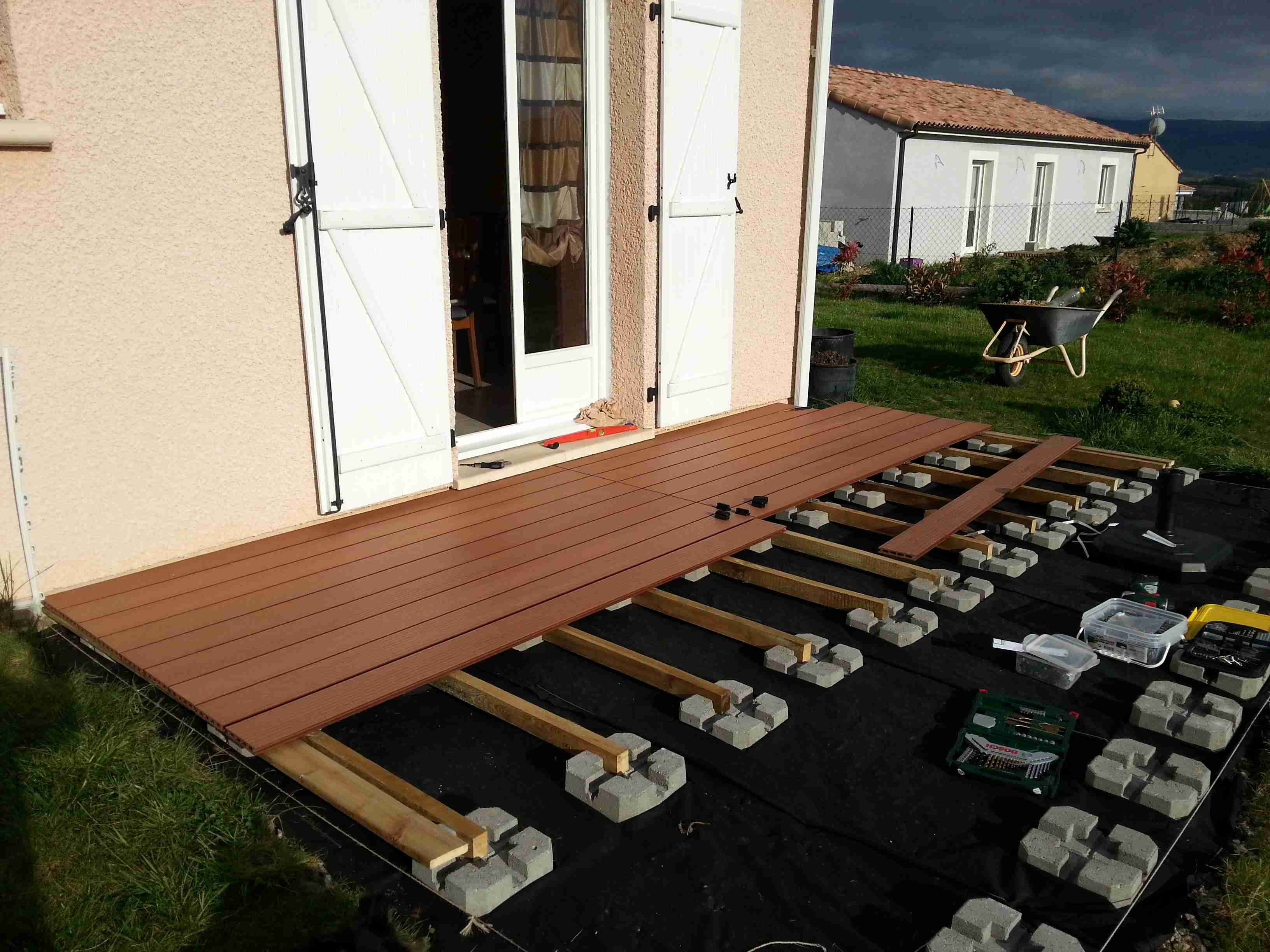 Terrasse bois prix m2 leroy merlin