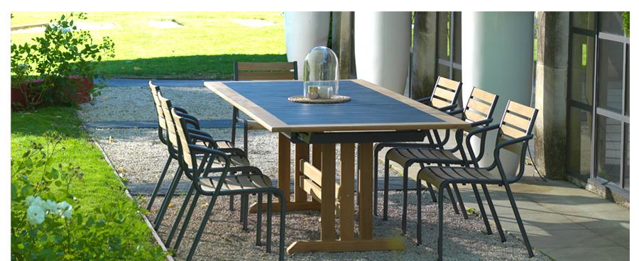 Fabricant mobilier de jardin haut de gamme - Mailleraye.fr jardin