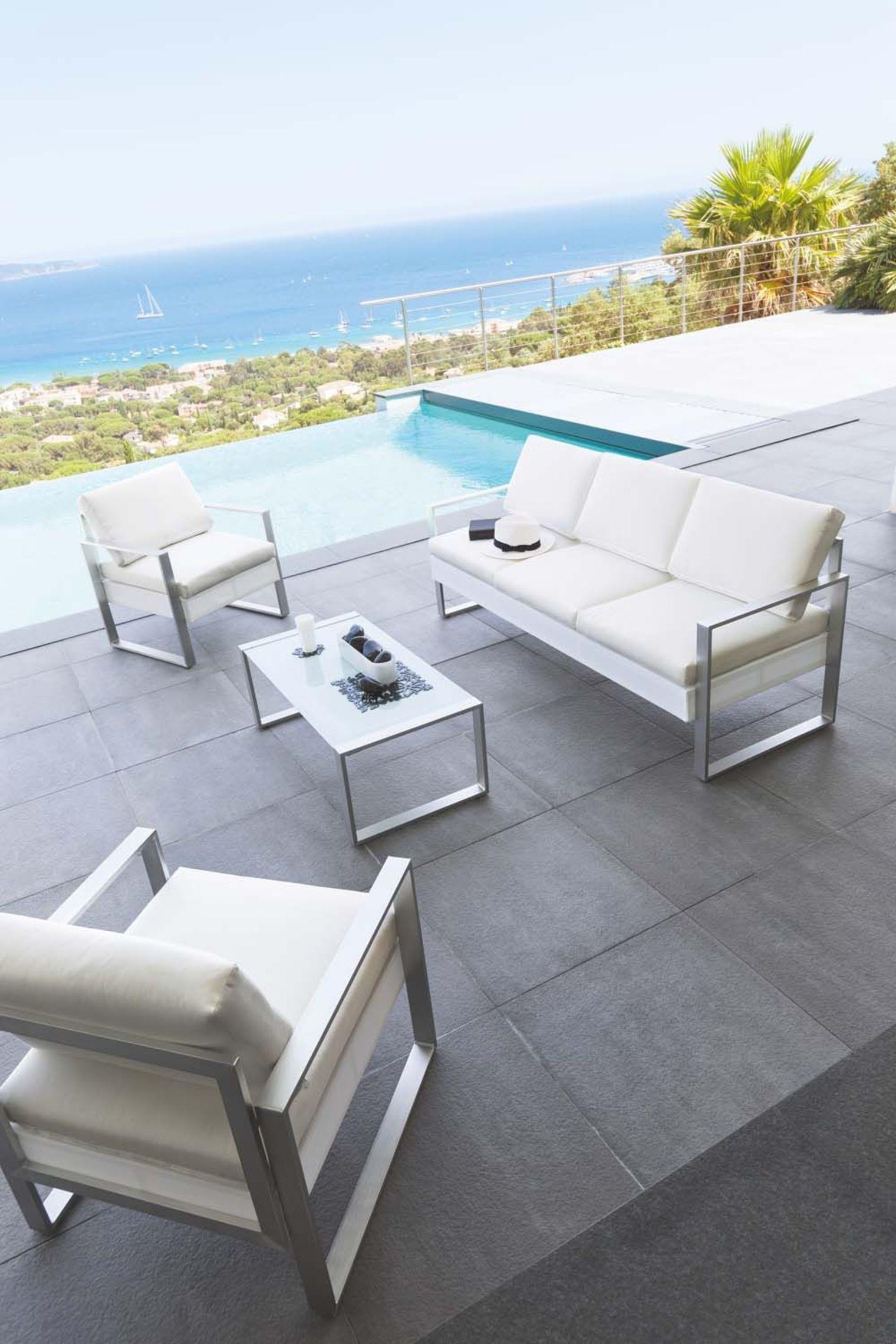 Salon de jardin luxe vendome - Mailleraye.fr jardin