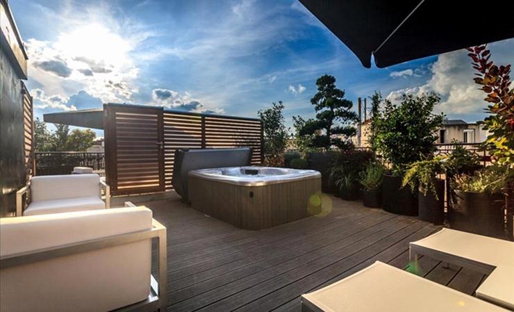 Hotel avec terrasse jacuzzi paris jardin - Hotel jacuzzi dans la chambre paris ...