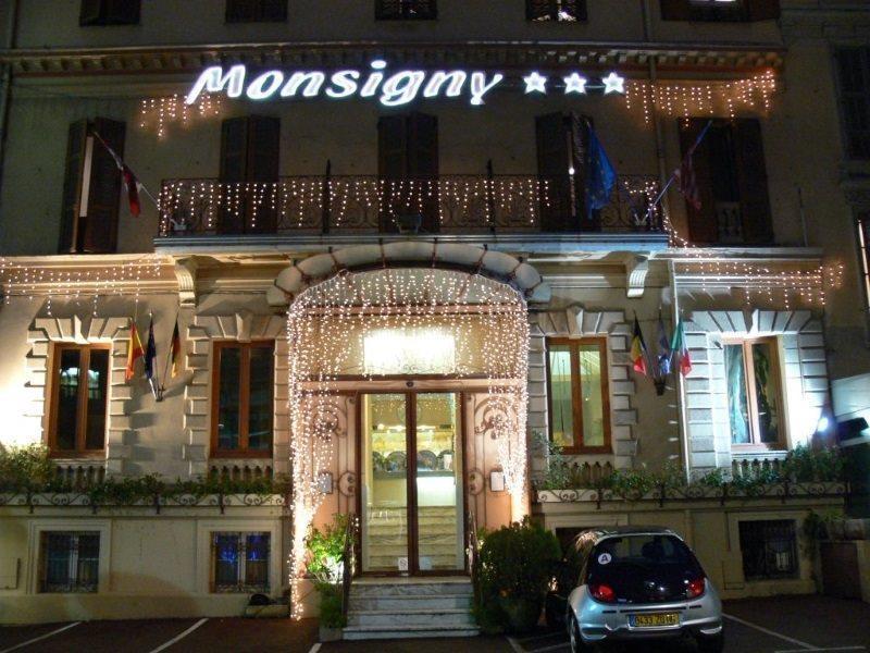 Terrasse hotel monsigny nice