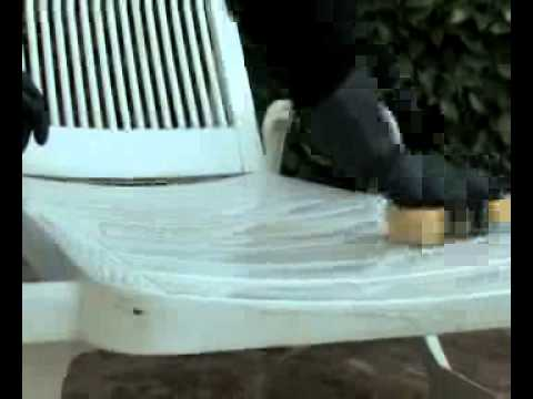 Comment blanchir un salon de jardin en pvc