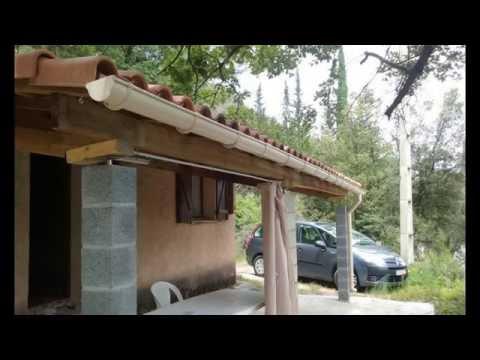 Terrasse couverte construction