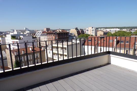 Appartement toit terrasse boulogne billancourt