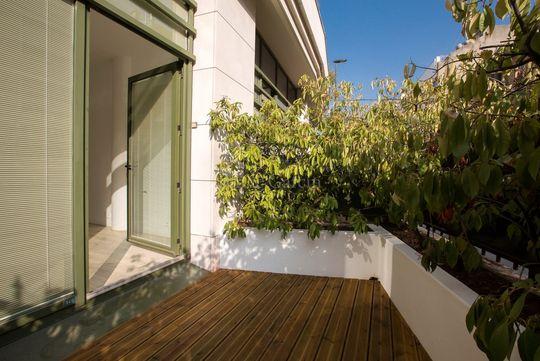 Appartement boulogne billancourt terrasse jardin
