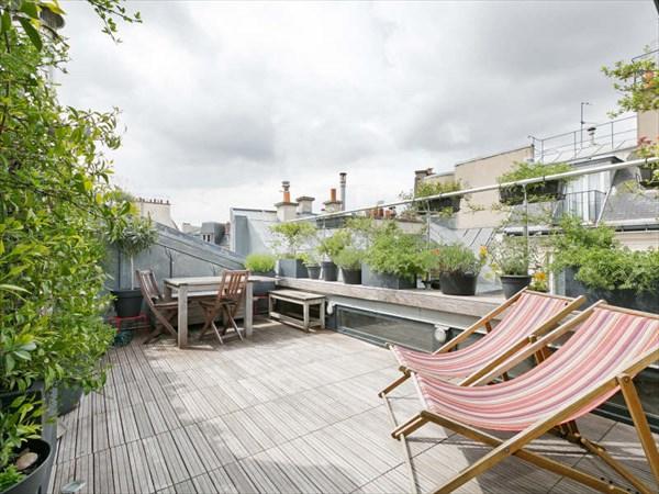 Terrasse appartement parisien