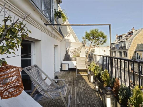 Terrasse appartement paris
