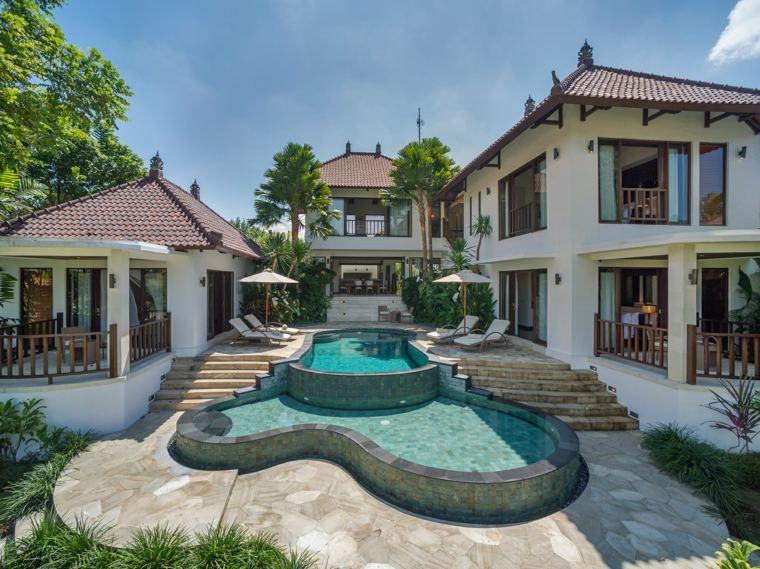 Idee terrasse avec piscine
