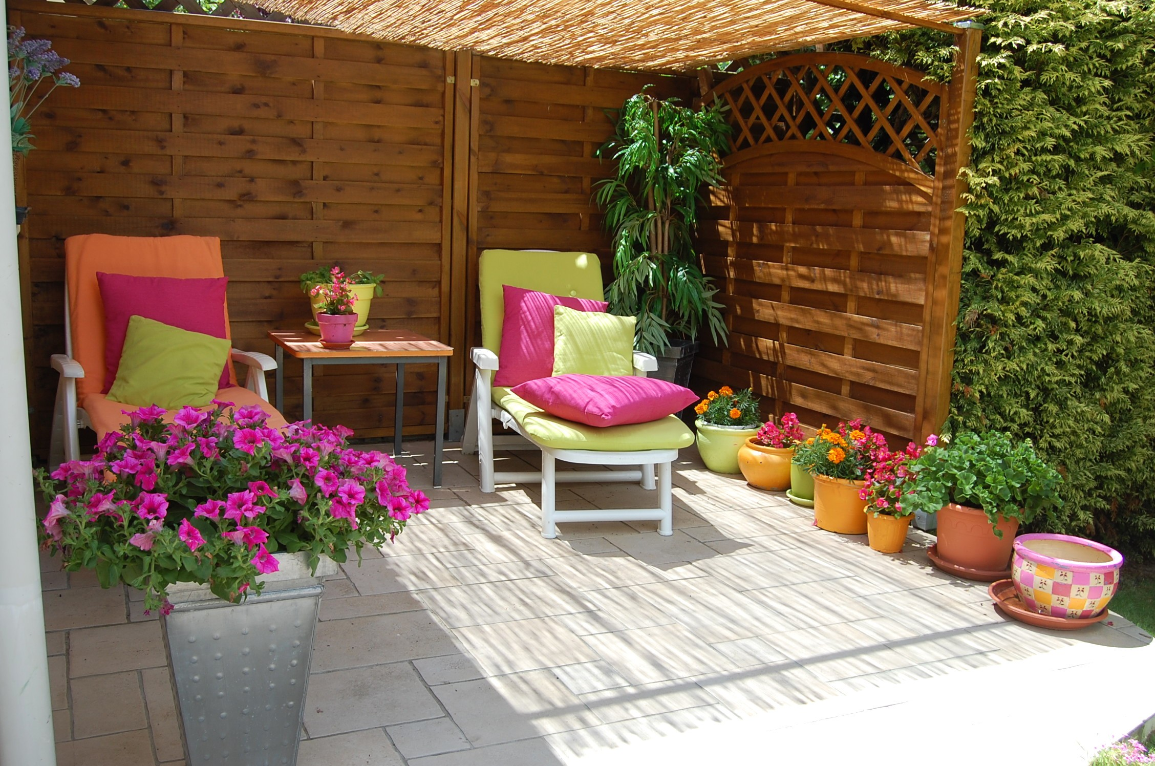 Idée terrasse bois zen