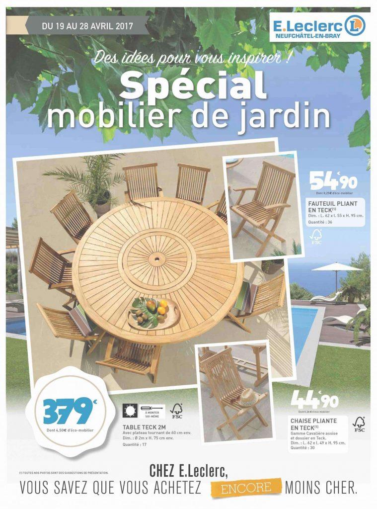 Table Jardin De Ronde Leclerc Salon SzqMGUVp