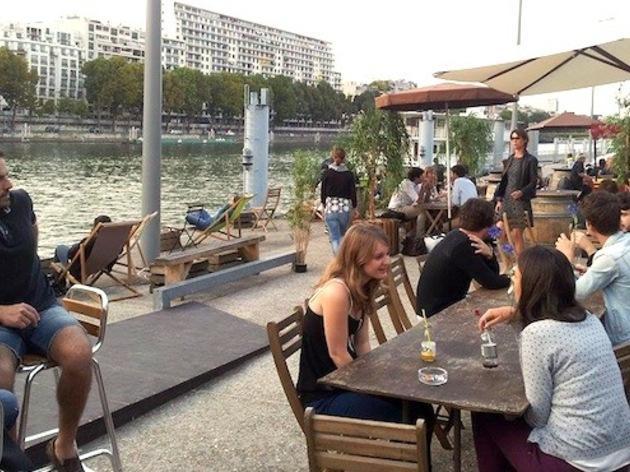 Bar terrasse javel