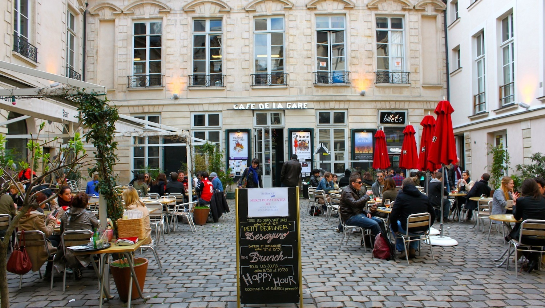 Terrasse Cafe Parisien Mailleraye Fr Jardin
