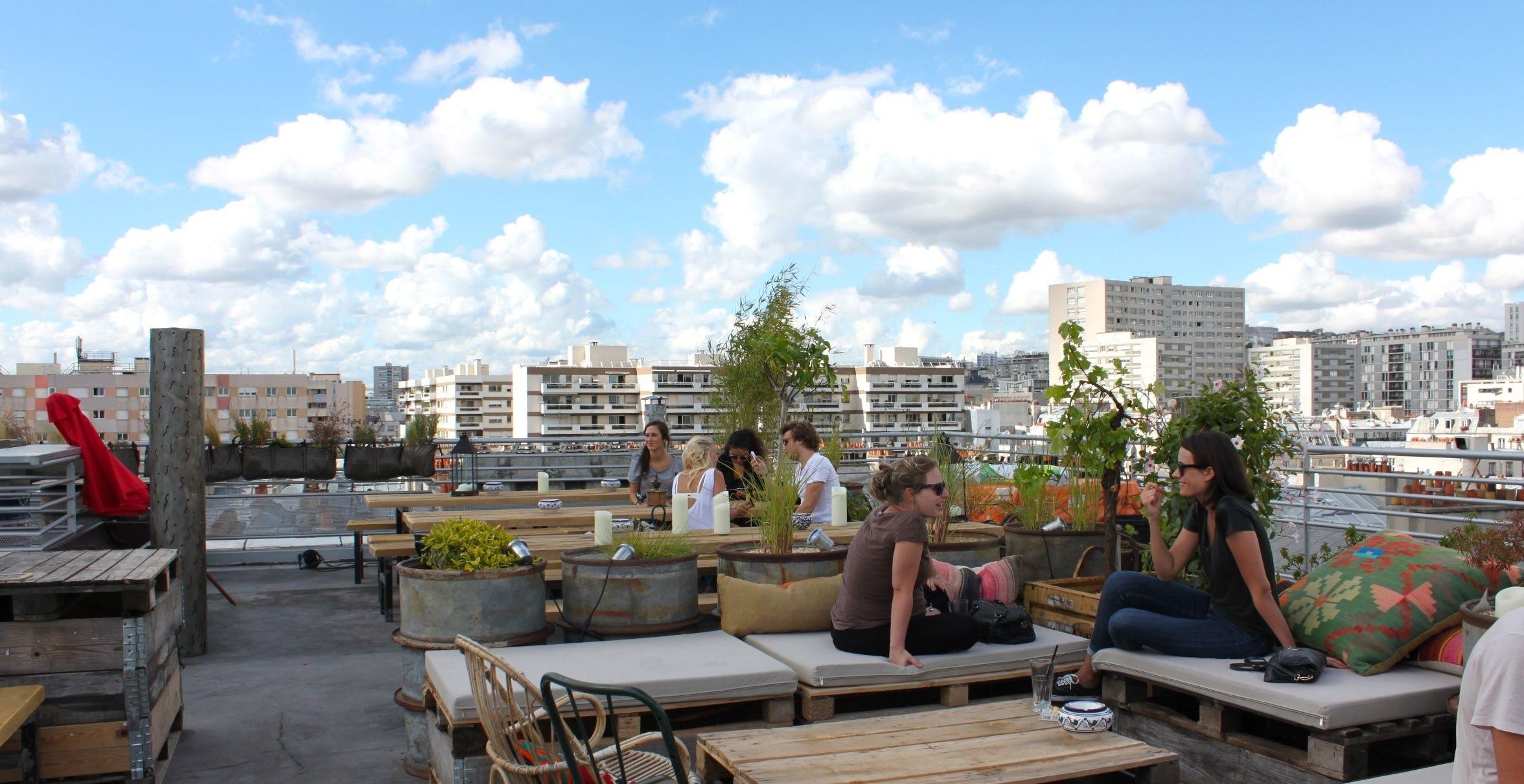 Terrasse paris mairie