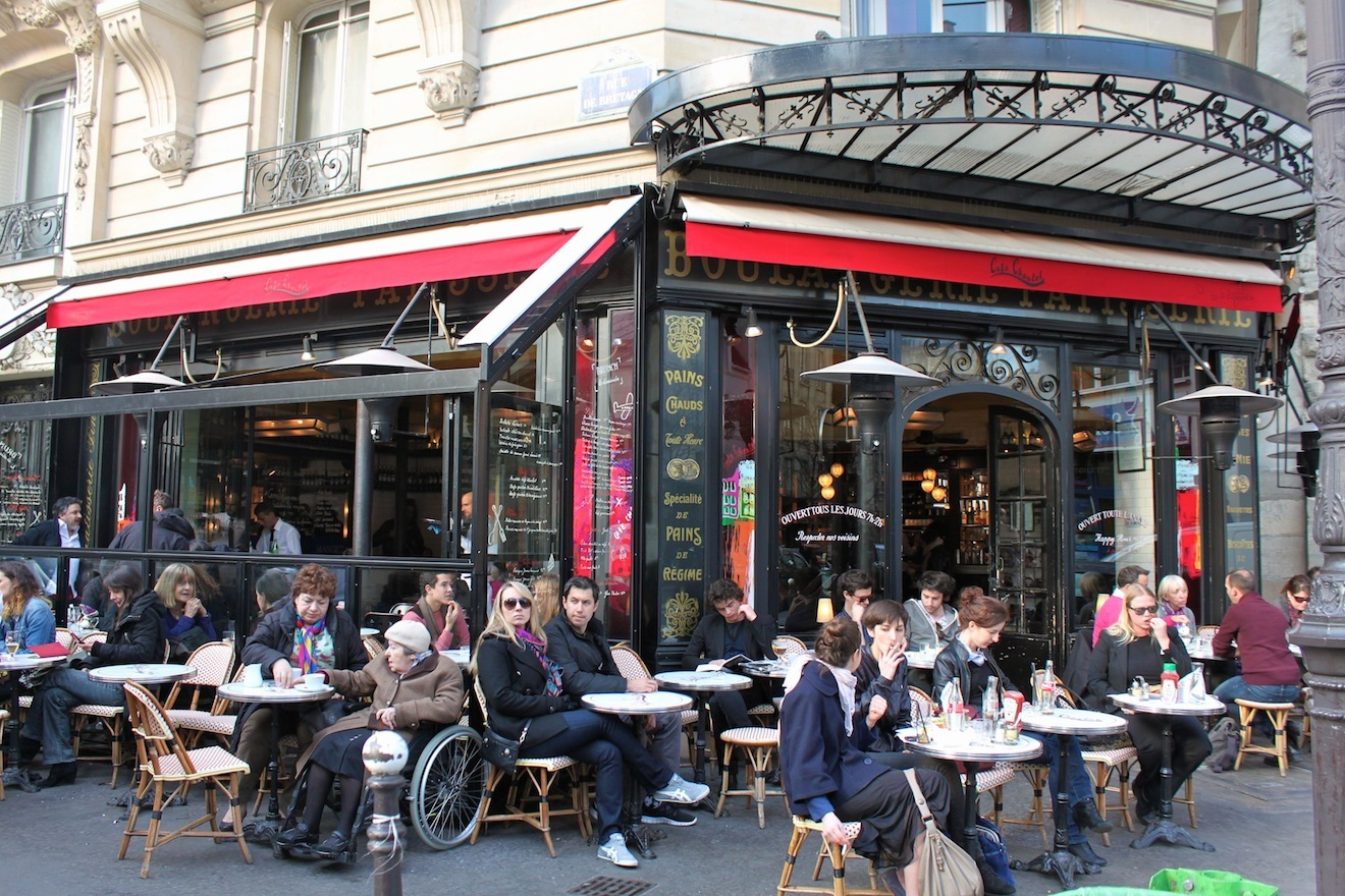 Restaurant terrasse paris quartier latin