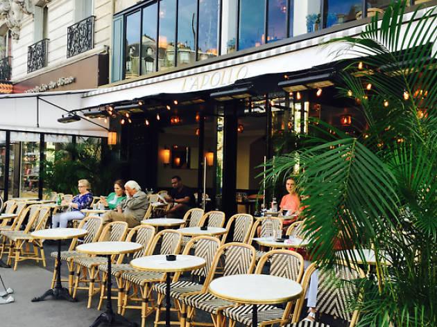 Bar terrasse a bastille