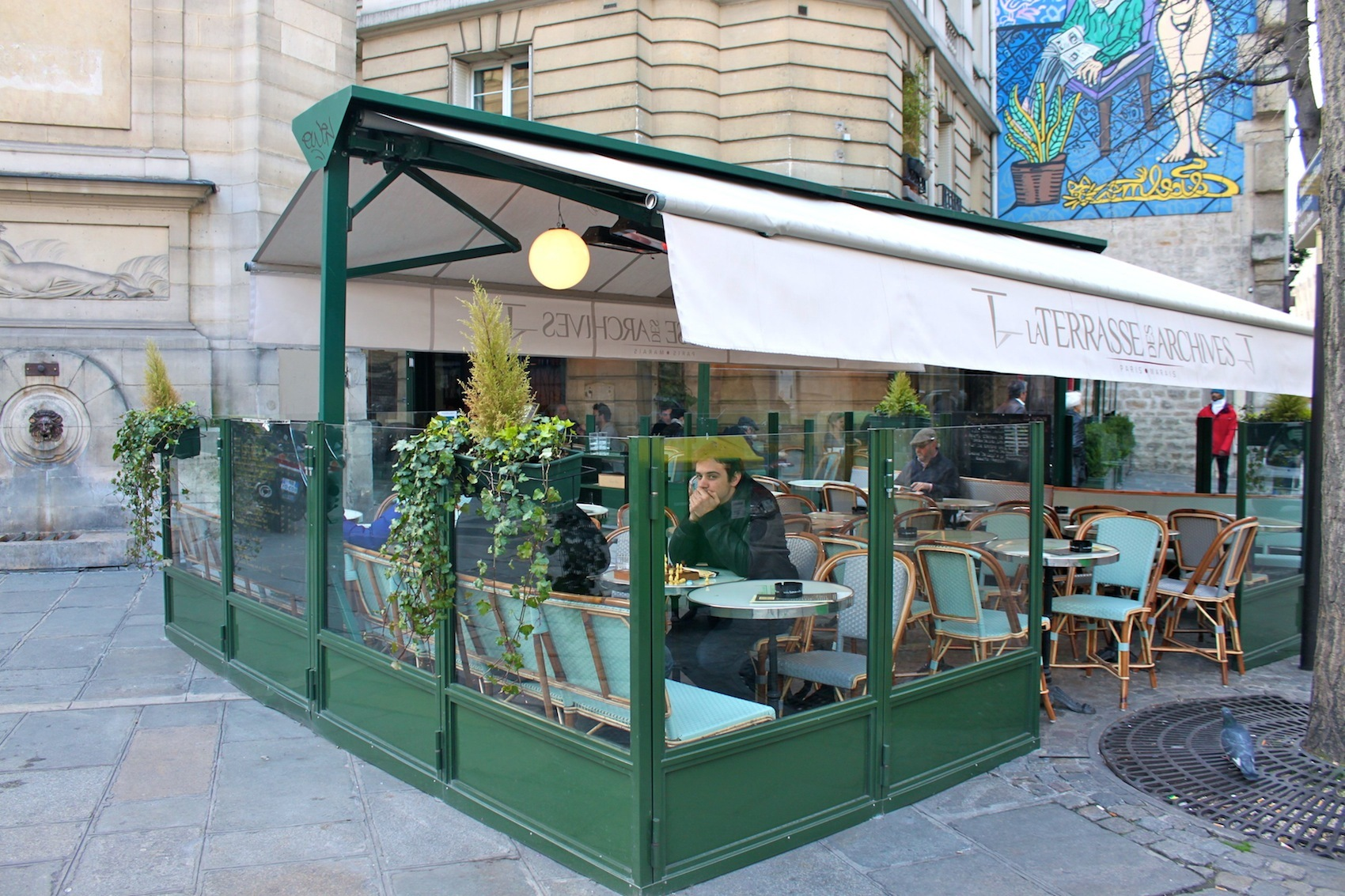 Terrasse des archives carte