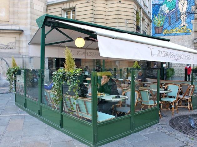 La terrasse des archives restaurant