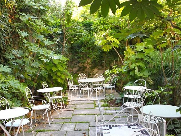 Restaurant avec terrasse sympa a paris
