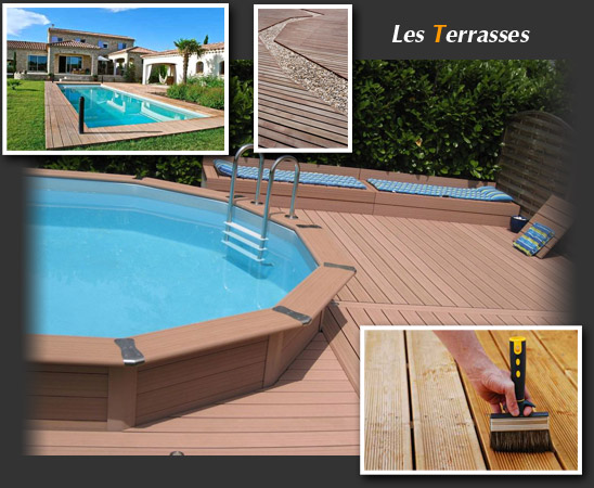 Terrasse bois composite la rochelle