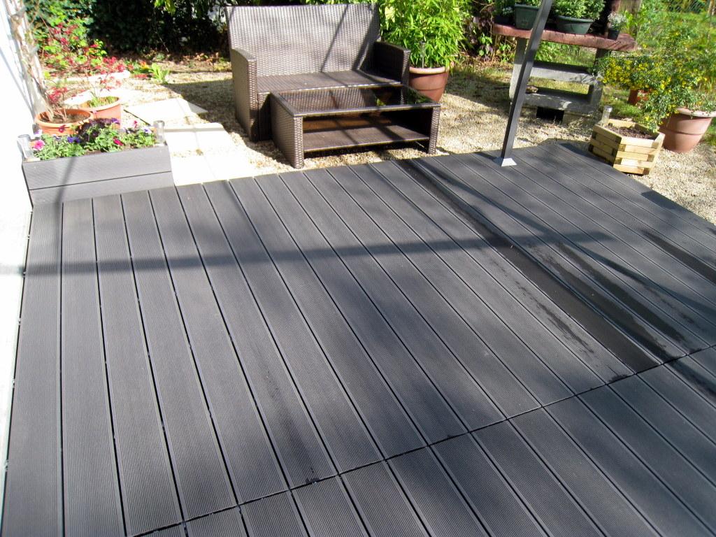 Terrasse composite de qualité