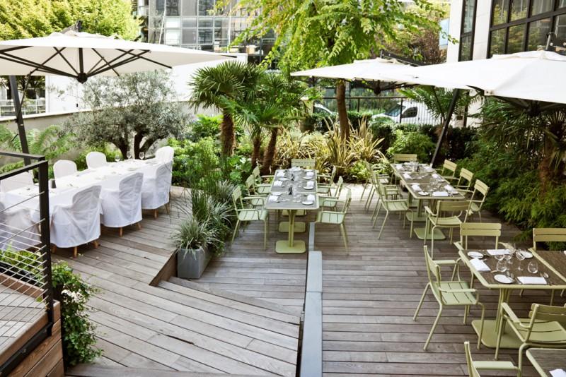 Terrasse et jardins paris ouest