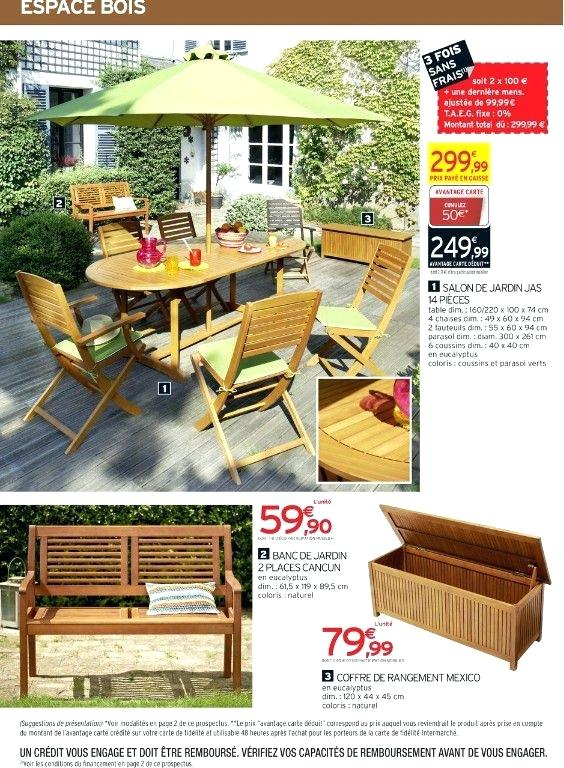 Awesome Salon De Jardin En Bois Intermarche Images - House Design ...
