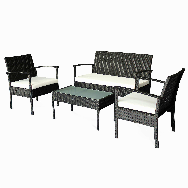 Table salon de jardin moderne