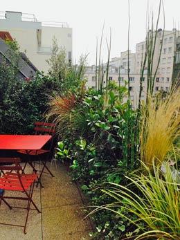 Terrasse et balcon aménagement paysager
