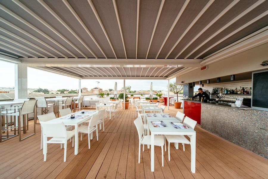 Terrasse bar rome