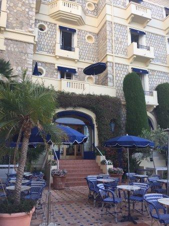La terrasse hotel juana