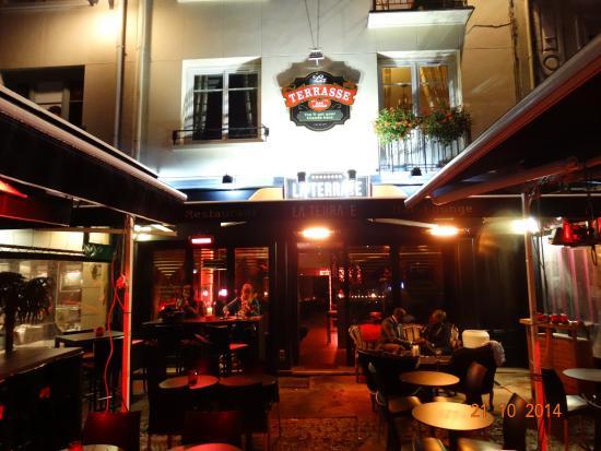 Bar terrasse rouen