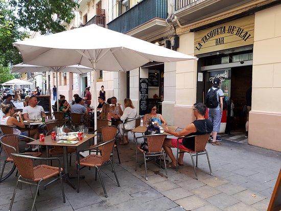 Cafe terrasse barcelona