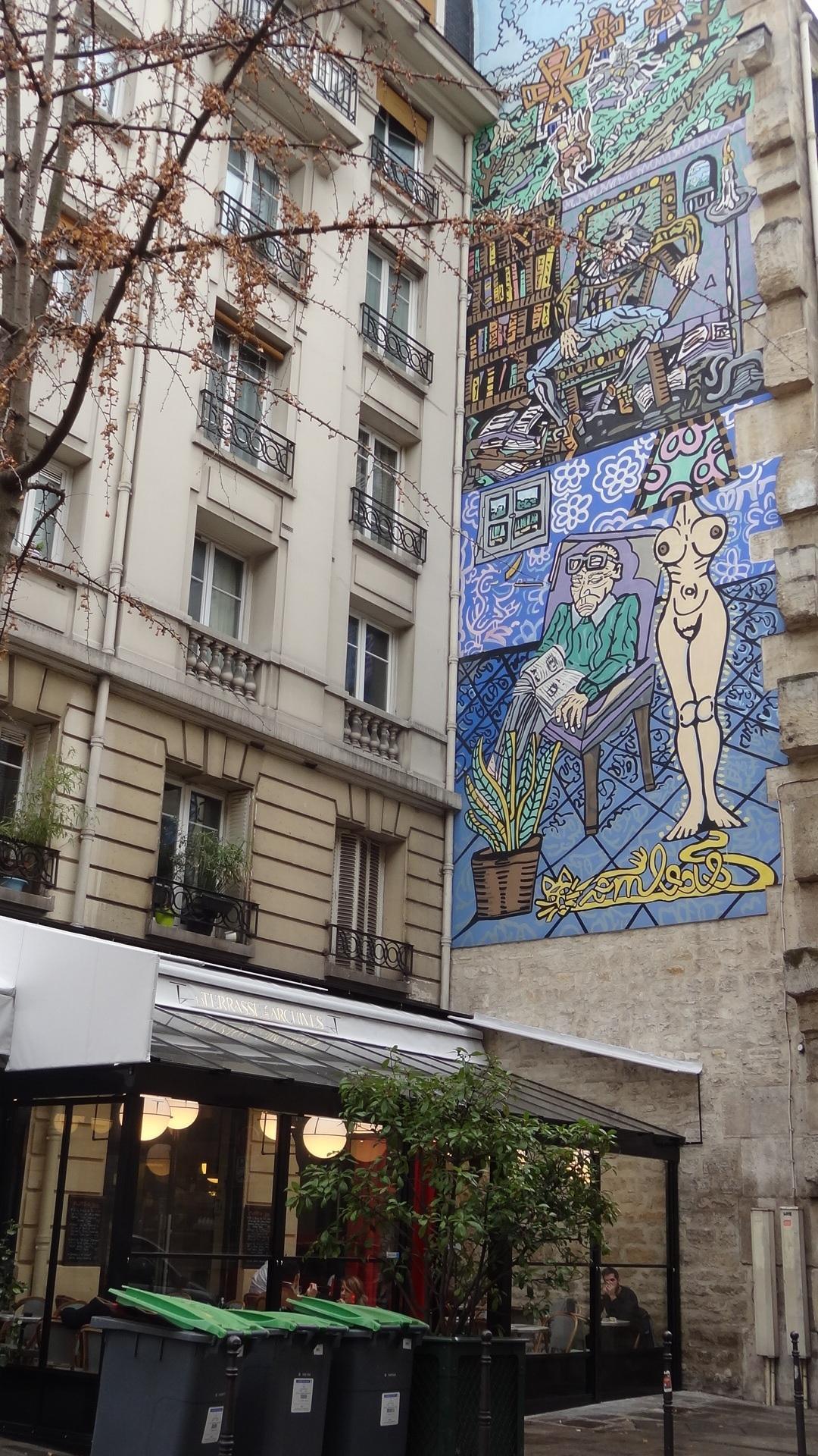 La terrasse des archives 75003 paris