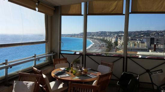 Café terrasse nice